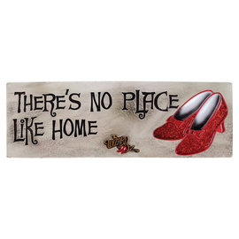 Spoontiques Desk Sign - Wizard of Oz - There's No Place Like Home