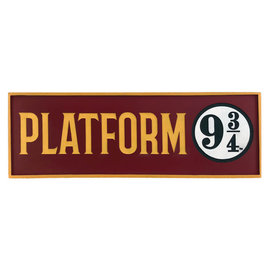 Spoontiques Desk Sign - Harry Potter - Platform 9 3/4