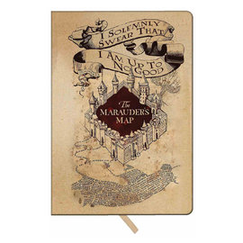 Spoontiques Notebook - Harry Potter - The Marauder's Map