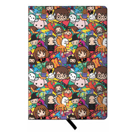 Spoontiques Carnet de notes - Harry Potter - Personnages Chibi