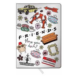 Spoontiques Carnet de Notes - Friends - Montage