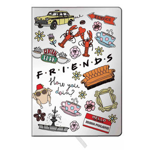 Spoontiques Carnet de Notes - Friends - Montage