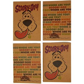 Bioworld Carnet de notes - Scooby-Doo! - Petits Cahiers Paquet de 4