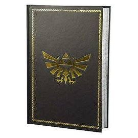 Paladone Carnet de notes - The Legend of Zelda - Logo d'Hyrule Doré Brillant