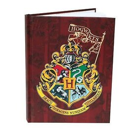 Spoontiques Carnet de notes - Harry Potter - Blason de Poudlard Rouge