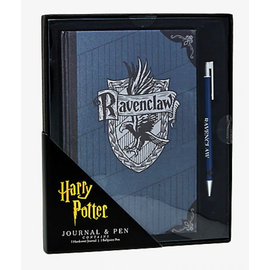 Bioworld Carnet de notes - Harry Potter - Maison Serdaigle avec Crayon