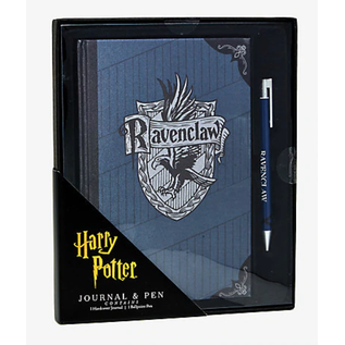 Bioworld Carnet de notes - Harry Potter - Maison Serdaigle avec Crayon