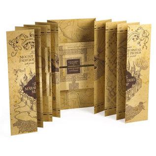Noble Collection Collectionnable - Harry Potter - Réplique de la Carte du Maraudeur Grandeur Réelle