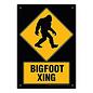 Aquarius Enseigne en métal - Bigfoot - Bigfoot Crossing
