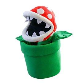 Hashtag Collectibles Peluche - Nintendo - Super Mario: Marionnette de Plante Piranha Géante