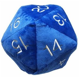 Ultra Pro Plush - Gaming - Jumbo D20 Blue 10""