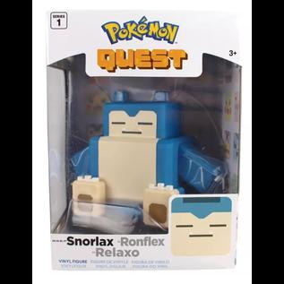 """Wicked Cool Toys Figurine - Pokémon - Pokémon Quest Snorlax 4"""""""