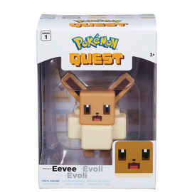 Wicked Cool Toys Figurine - Pokémon - Pokémon Quest Eevee 4""