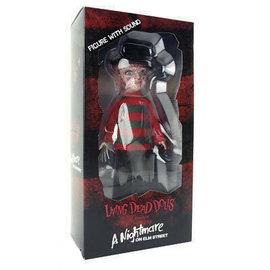 Living Dead Dolls Figurine - Living Dead Dolls - A Nightmare on Elm Street: Freddy avec Son
