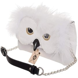 Bioworld Purse - Harry Potter - Hedwig Fluffy with Metal Letter