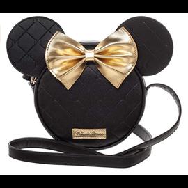 Bioworld Sacoche - Disney - Minnie Mouse Noire avec Boucle Dorée