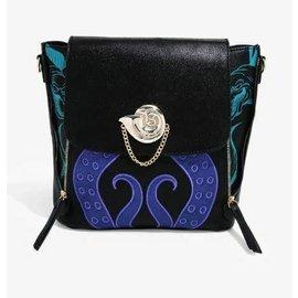 Bioworld Mini Backpack - Disney - Little Mermaid: Villains Ursula with Metal Seashell Charm
