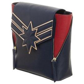 Bioworld Mini Backpack - Marvel - Captain Marvel Red and Blue