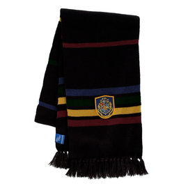 Elope Scarf - Harry Potter - Black with Hogwarts Crest