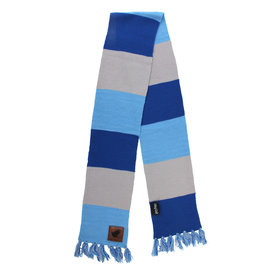 Elope Scarf - Harry Potter - Striped with Leather Patch Ravenclaw