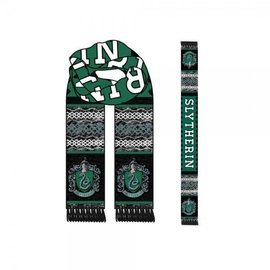 Bioworld Scarf - Harry Potter - Lozenge with Slytherin Crest