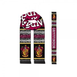 Bioworld Scarf - Harry Potter - Lozenge with Gryffindor Crest