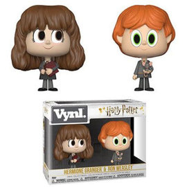 Funko Figurine - Harry Potter - Vnyl Hermione Granger et Ron Weasley