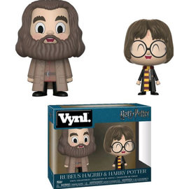 Funko Figurine - Harry Potter - Vnyl Rubeus Hagrid et Harry Potter