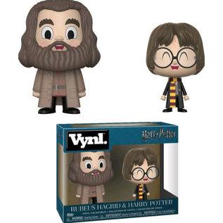 Funko Figurine - Harry Potter - Vnyl Rubeus Hagrid et Harry Potter