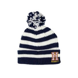 Bioworld Winter Hat - Harry Potter - White with Hogwarts H