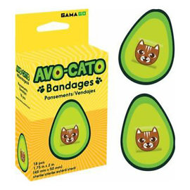 Gamago Bandage - Cat - Avo-cato 18 pieces