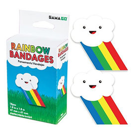 Gamago Bandages - Cute - Rainbow Cloud 18 pieces