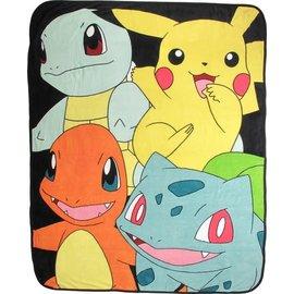 Bioworld Couverture - Pokémon - Pokémon de départ Jeté en Peluche