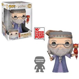"Funko Funko Pop! - Harry Potter - Albus Dumbledore with Fawkes 10"" 110"