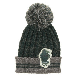 Elope Winter Hat - Harry Potter - Heathered Pom with Slytherin Crest