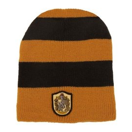 Elope Winter Hat - Harry Potter - Slouch Beanie with Hufflepuff Crest