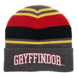 Bioworld Tuque - Harry Potter - Grise Brodée Gryffondor