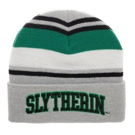 Bioworld Winter Hat - Harry Potter - Embroidered Slytherin