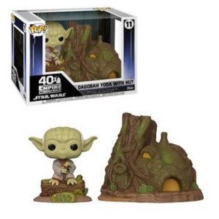 Funko Funko Pop! - Star Wars - Dagobah Yoda with Hut 11