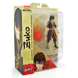 Diamond Toys Figurine - Avatar the Last Airbender - Zuko