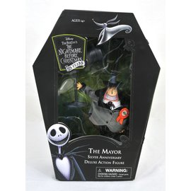 Diamond Toys Figurine - Disney - The Nightmare Before Christmas: The Mayor Deluxe 25ème Anniversaire