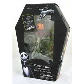 Diamond Toys Figurine - Disney - The Nightmare Before Christmas: Pumpkin King Deluxe 25th Anniversary