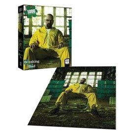 Aquarius Puzzle - Breaking Bad - Walter White in Hazmat Suit 1000 pieces