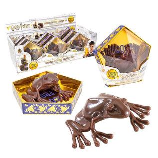 Noble Collection Collectionnable - Harry Potter - Réplique de Chocogrenouille Jouet avec Autocollant