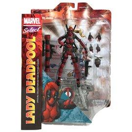 Diamond Toys Figurine - Marvel Select - Lady Deadpool