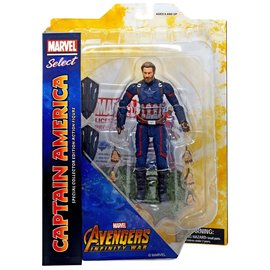 Diamond Toys Figurine - Marvel Select - Avengers Infinity War: Captain America