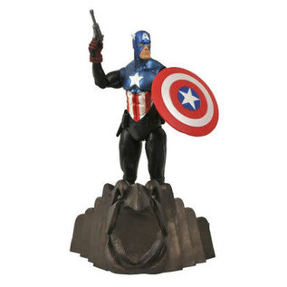 Diamond Toys Figurine - Marvel Select - Captain America