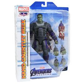 Diamond Toys Figurine - Marvel Select - Avengers Endgame: Nano-Gauntlet Hulk