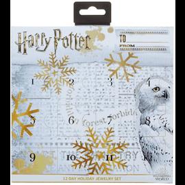 Bioworld Bijoux - Harry Potter - Calendrier de l'Avant Ensemble de Bijoux 12 pièces