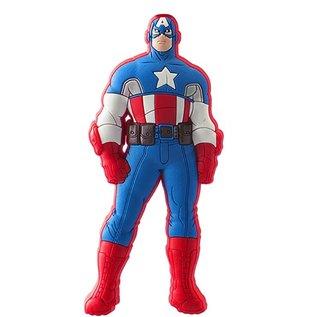 Monogram Aimant - Marvel - Captain America: Classique en Caoutchouc